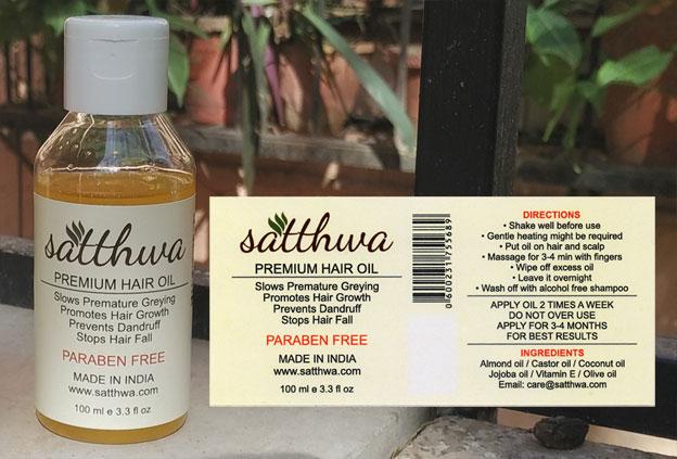Satthwa old Label